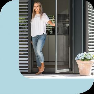 Insektenschutz für Türen und Fenster