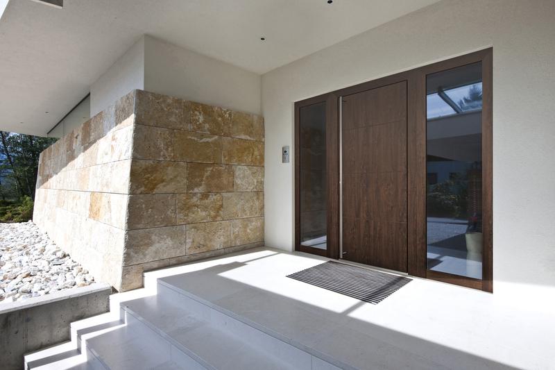 Holz-Alu-Haustür